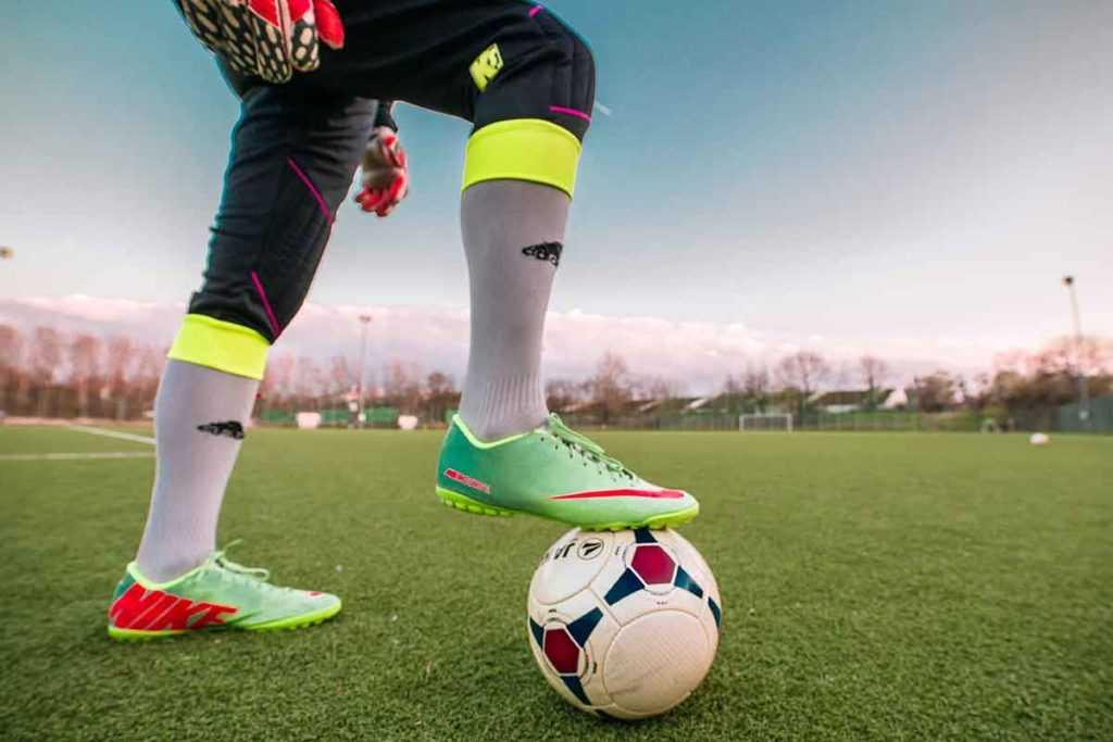 Fußballschuhe Fußball Stutzen