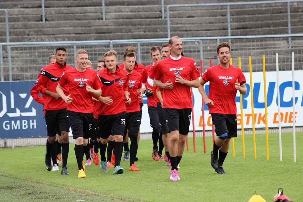 Trainingsplanung Fußball Training